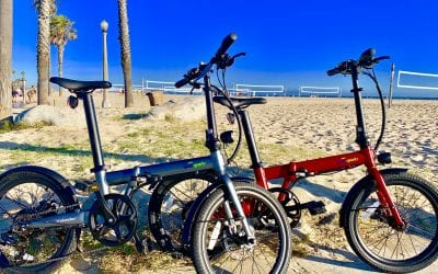 Qualisports Volador Electric Folding Bike