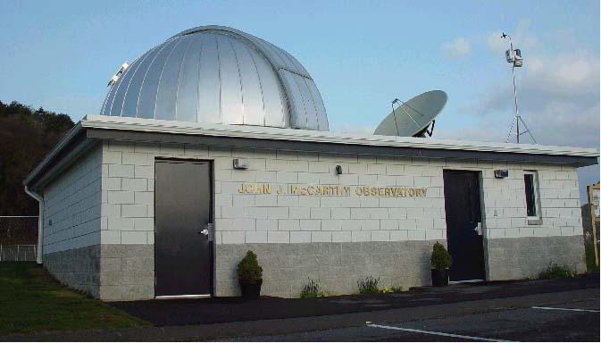 John J McCarthy Observatory exterior