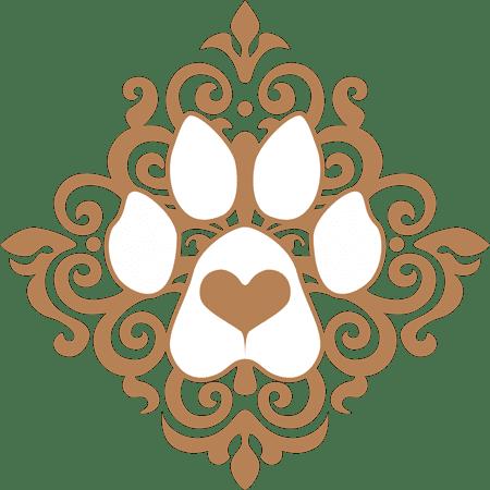 Paw Art Love Dog Portrait Logo